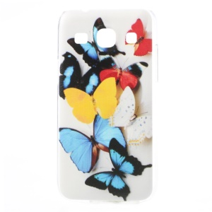 For Samsung Galaxy Core Plus G3500 / Trend 3 G3502 Embossed Hard PC Case Beautiful Butterflies Pattern