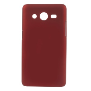Red Rubberized Hard Case Shell for Samsung Galaxy Core II 2 G355H