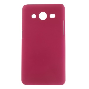 Rose Rubberized Hard Case Cover for Samsung Galaxy Core II 2 G355H