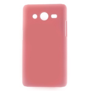 Pink Rubberized Hard Protective Case for Samsung Galaxy Core II 2 G355H