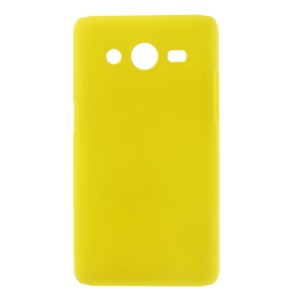 Yellow Rubberized Hard Cover Case for Samsung Galaxy Core II 2 G355H
