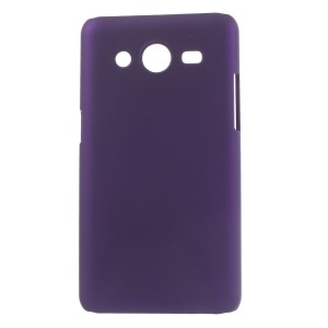 Purple Rubberized Hard Case Accessory for Samsung Galaxy Core II 2 G355H