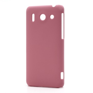 Rubberized Hard Plastic Case Cover for Huawei Ascend G510 U8951D - Pink