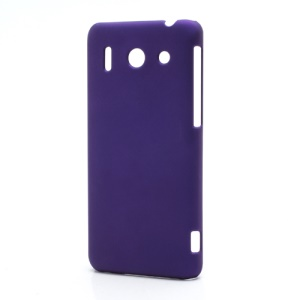 Rubberized Hard Plastic Case Cover for Huawei Ascend G510 U8951D - Purple