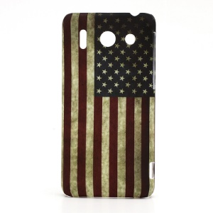 Vintage USA Flag Hard Skin Case for Huawei Ascend G510 U8951D