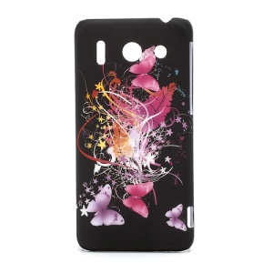 Colorful Ribbon and Butterflies Hard Skin Cover for Huawei Ascend G510 U8951D