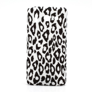 Leopard Rubberized Hard Plastic Case for Huawei Ascend G510 U8951D