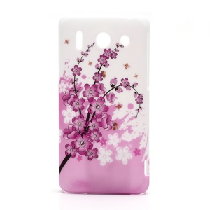 Pink Plum Plastic Hard Back Case for Huawei Ascend G510 U8951D