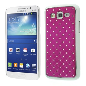 Rhinestone Starry Sky Plating Hard PC Case for Samsung Galaxy Grand 2 Duos G7100 G7102 - Rose