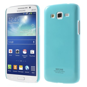 SGP Glossy Hard Plastic Case for Samsung Galaxy Grand 2 Duos G7102 G7100 - Blue