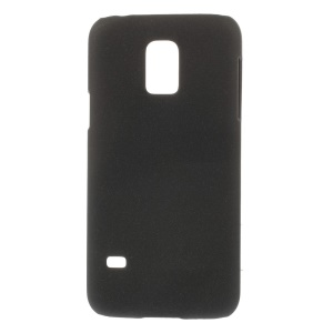 For Samsung Galaxy S5 mini G800 Matte Quicksand PC Hard Case - Black