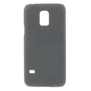 For Samsung Galaxy S5 mini G800 Matte Quicksand PC Hard Shell - Grey