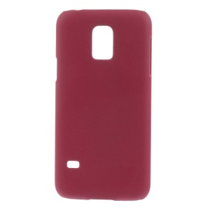 Matte Quicksand PC Hard Cover for Samsung Galaxy S5 mini G800 - Rose