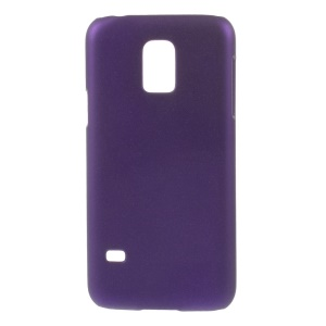 Matte Quicksand PC Back Case for Samsung Galaxy S5 mini G800 - Purple