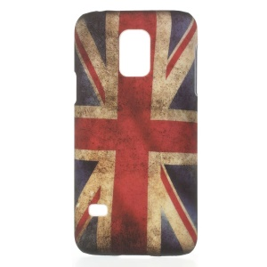 Retro Union Jack Flag Plastic Hard Shell for Samsung Galaxy S5 Mini G800