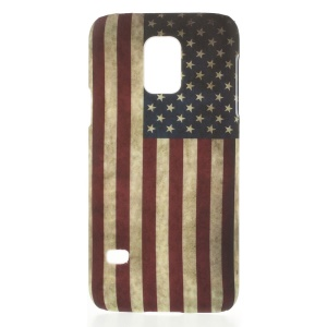 American Flag US Old Glory Plastic Hard Case for Samsung Galaxy S5 Mini G800