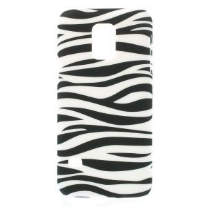 Zebra Pattern PC Hard Shell Cover for Samsung Galaxy S5 Mini G800