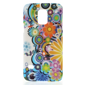 Colorful Flowers for Samsung Galaxy S5 Mini G800 Hard Plastic Case