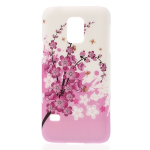 Plum Blossom PC Hard Protective Case for Samsung Galaxy S5 Mini G800