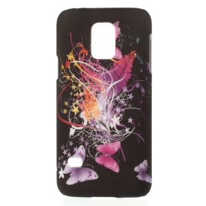 Laces & Butterflies for Samsung Galaxy S5 Mini G800 PC Hard Phone Case