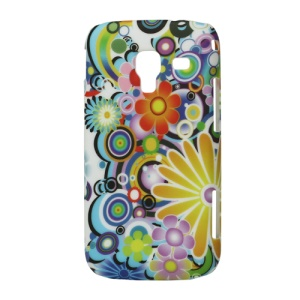 Colorized Flower Hard Cover for Samsung Galaxy Ace 2 I8160