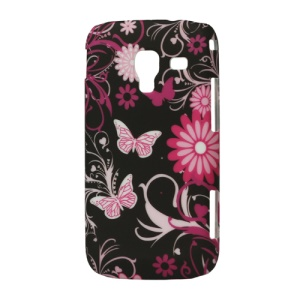 Butterfly Flower Hard Case for Samsung Galaxy Ace 2 I8160
