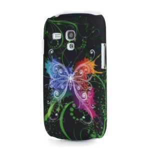 Colorful Butterfly Back Case Cover for Samsung i8190 Galaxy S III S3 Mini