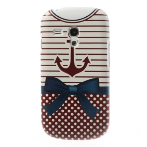 Stripe & Dots Shirt Hard Case for Samsung Galaxy S III Mini I8190