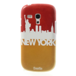 For Samsung Galaxy S III Mini I8190 New York Impression Hard Back Case