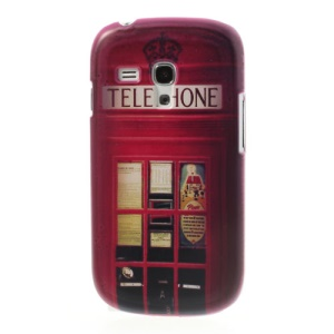 For Samsung Galaxy S3 Mini I8190 Telephone Booth PC Hard Shell
