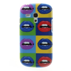 For Samsung Galaxy S3 Mini I8190 Colorful Lip Plastic Cover