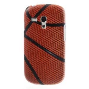 For Samsung Galaxy S3 Mini I8190 Basketball Pattern Slim PC Case