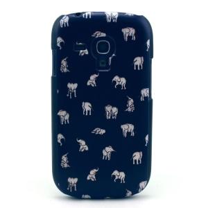 Various Elephants Hard Plastic Case for Samsung Galaxy S3 Mini i8190