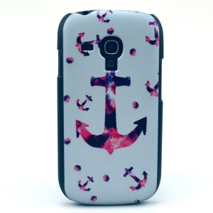 Colorful Anchor Hard Protective Case for Samsung Galaxy S3 Mini i8190