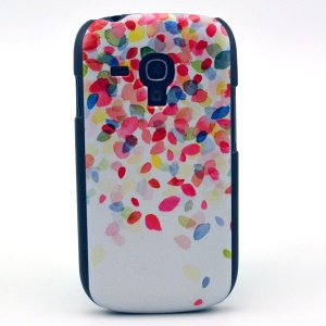 Colorized Leaves Hard Cover Shell for Samsung Galaxy S3 Mini i8190