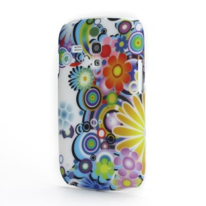 Gorgeous Flowers Protective Case Cover for Samsung i8190 Galaxy S III S3 Mini