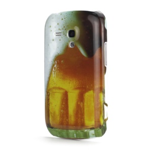 Beer Design Plastic Case Cover for Samsung i8190 Galaxy S3 III Mini