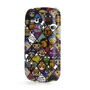 Cartoon Hard Skin Case Cover for Samsung i8190 Galaxy S III Mini