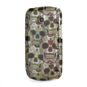 Skull Design Hard Cover Case for Samsung i8190 Galaxy S III / 3 Mini
