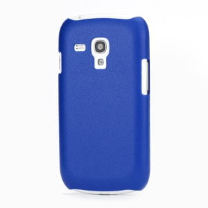 Ultra Slim Textured Hard Back Case for Samsung i8190 Galaxy S III / 3 Mini - Dark Blue