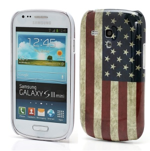 Retro American Flag Samsung Galaxy S3 Mini I8190 Hard Cover Case