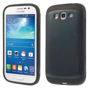 For Samsung Galaxy Grand Lite I9060 I9062 PC + TPU Impact-resistant Case - Dark Blue