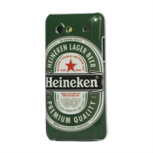 Heineken Lager Beer Pattern Hard Case Cover for Samsung I9070 Galaxy S Advance