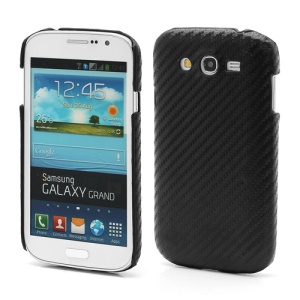 Carbon Fiber Plastic Case Cover for Samsung Galaxy Grand I9080 I9082