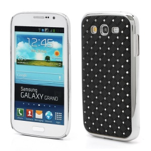 Starry Sky Sparking Rhinestone Electroplating Hard Case for Samsung Galaxy Grand I9080 I9082 / Neo i9060 i9062 - Black