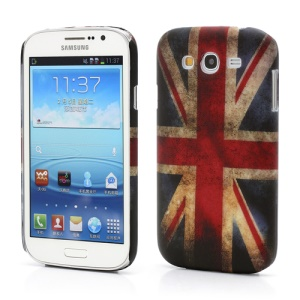 Retro Union Jack UK Flag Hard Case Shell for Samsung Galaxy Grand I9080 I9082