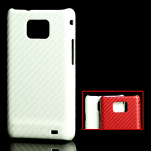 Carbon Fiber Skin Hard Plastic Case for Samsung i9100 Galaxy S II