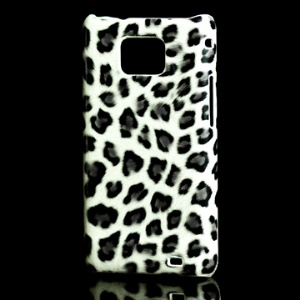 Samsung i9100 Galaxy S II Hard Plastic Case with Fashionable Leopard Grain Pattern