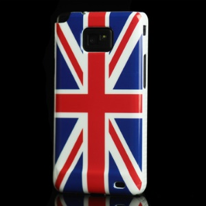 The Union Jack Hard Plastic Case for Samsung i9100 Galaxy S 2