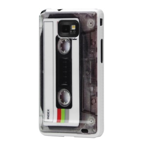 Colorful Cassette Tape Hard Case for Samsung I9100 Galaxy S2 / II